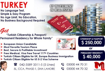 Get Turkish Citizenship by Investment Program…