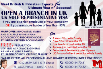 Apply UK Sole Representative Visa through our British Expert..