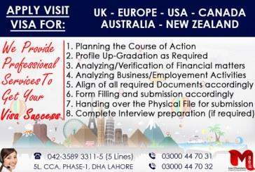 Apply Worldwide Visit Visa through our Expert..