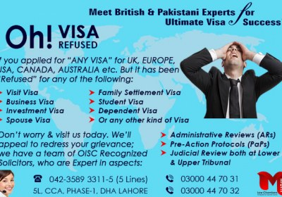 Apply Any Kind of UK Refusal Visa….