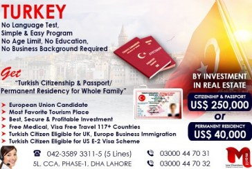 Get Turkey Permanent Residency…