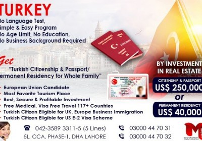 Get Turkey Permanent Residency…