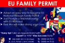 Apply EU Family Permit Through our Expert..