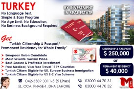 Get Turkey Residency through our British Expert..