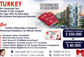 Get Turkey Residency through our British Expert..